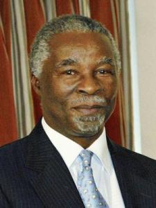 Prezydent RPA Thabo Mbeki