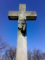 Krzyż Nehringów - (na zdewastowanym przydworskim cmentarzu ewangelickim w Bierzglinie)
