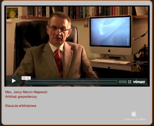 Kliknij w obrazek aby obejrzeć wykłady o arbitrażu w rozdzielczości video HD