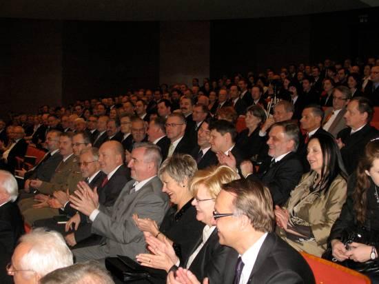 Adwokaci Wielkopolskiej Izby Adwokackiej podczas uroczystych obchodów 90. lecia Izby